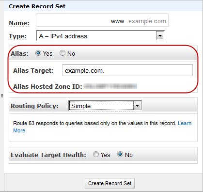 Amazon route 53 - how to setup hosted zones? - Innofied