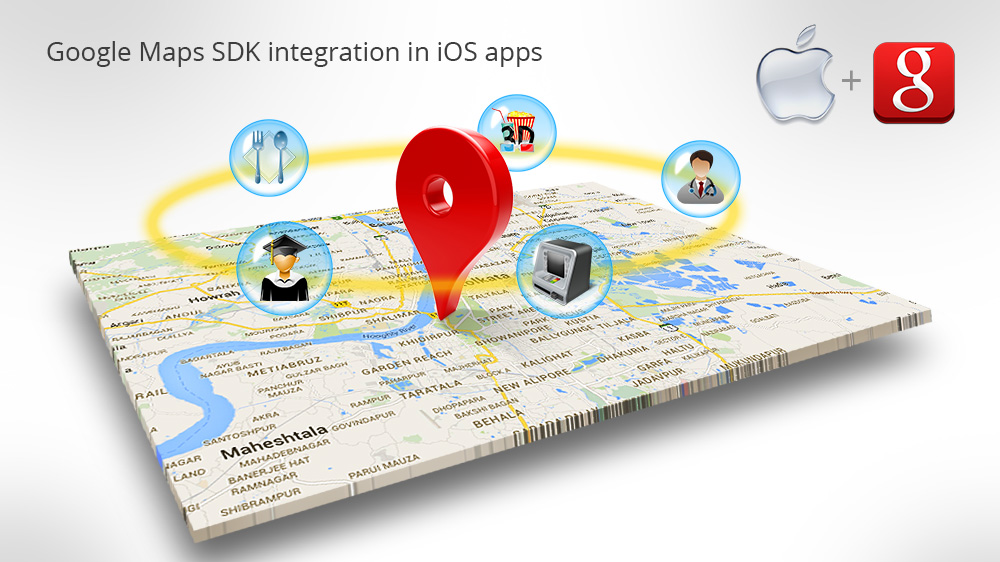 Google Maps SDK and Places API integration in iOS - Innofied