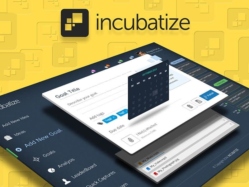 Incubator – Mobile app