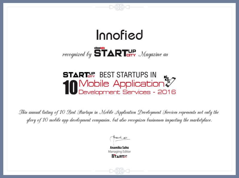 award from silicon India startup city magazine
