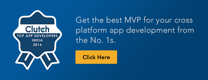 develop a mobile app with a quick MVP