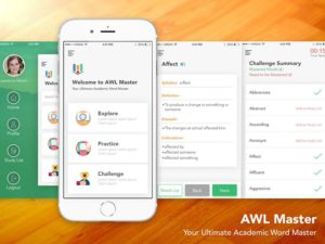 Private: AWL Word Master – Easy Language Learning App