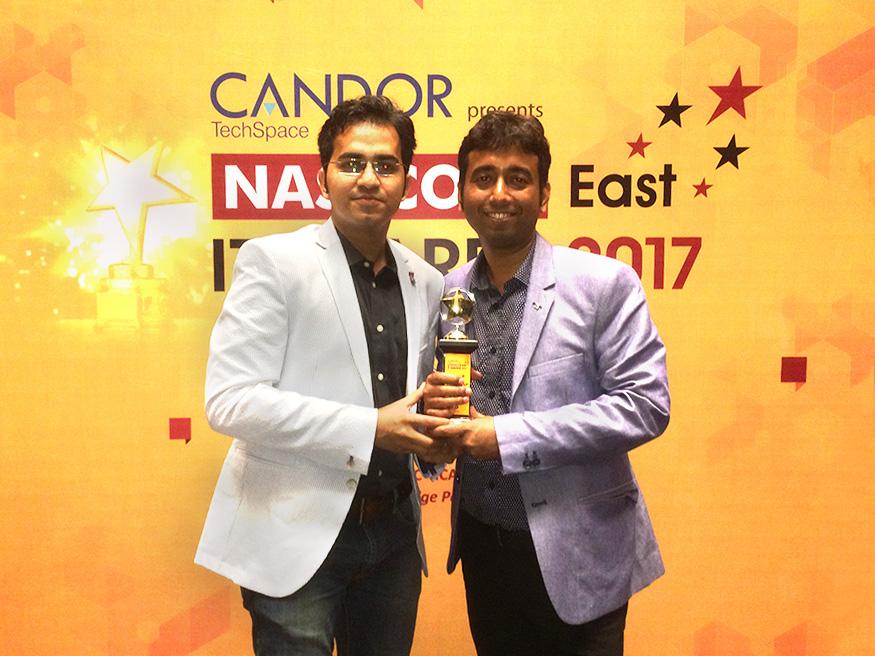 Swarnendu-Sandip-Holds-NASSCOM-Awards