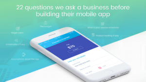 questions to answer while building an app