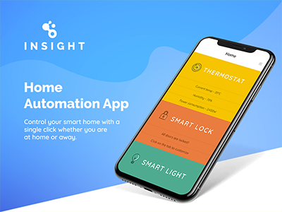 home automation app Inisght