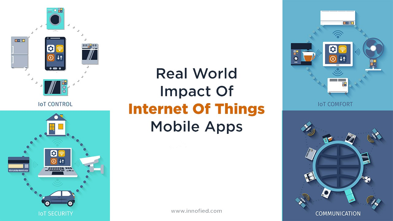 Impact of IoT mobile apps