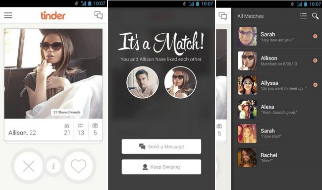 create Tinder like app