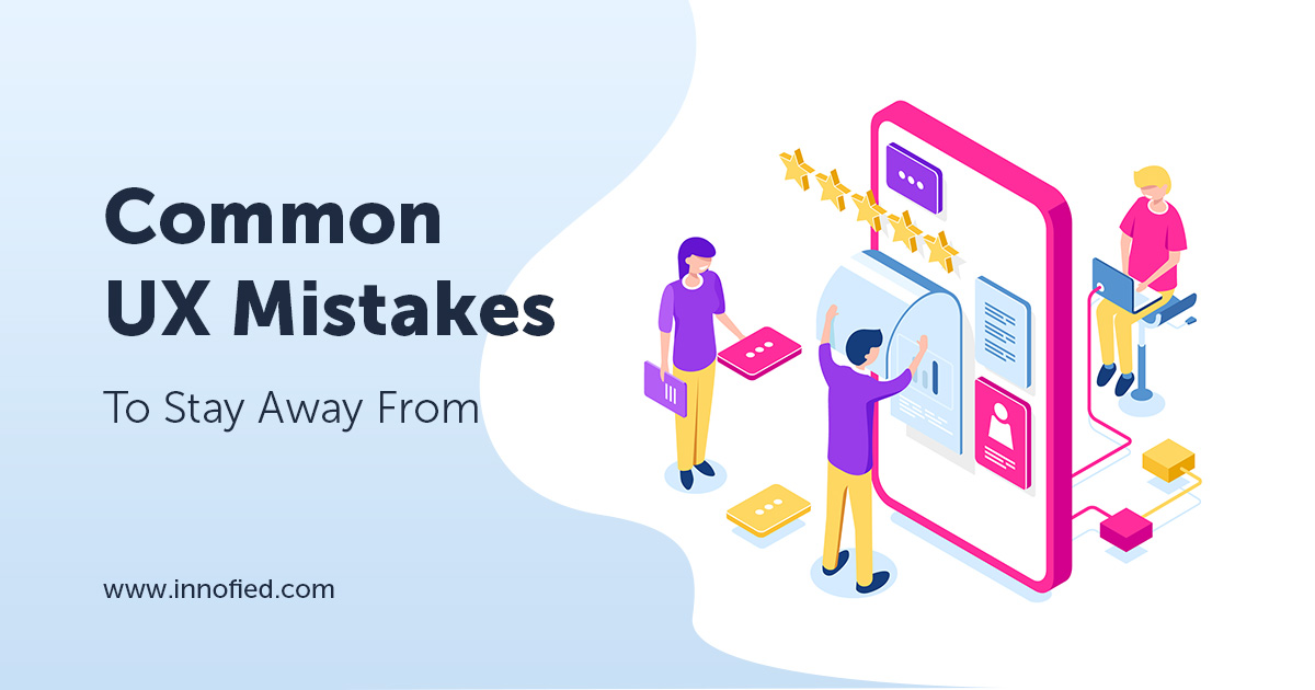 Common UX mistakes