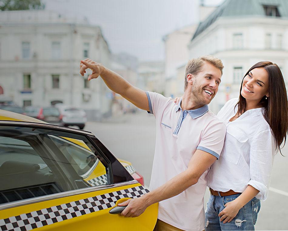 taxi app on bid