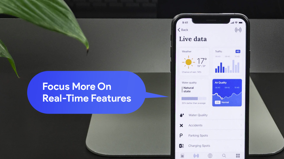 real-time features