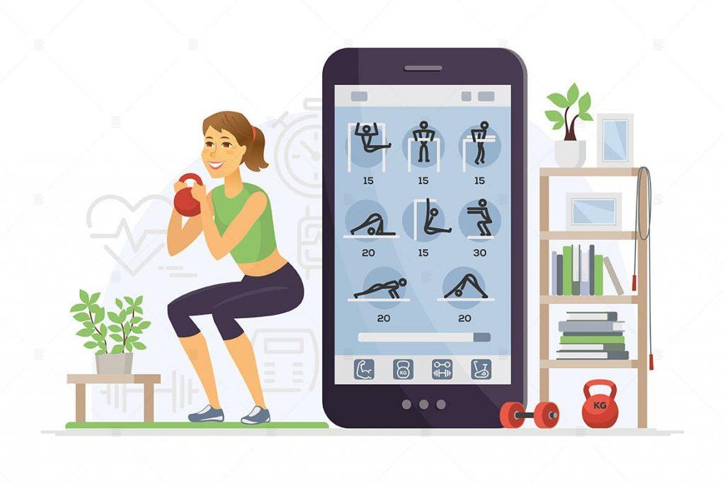 fitness app cost