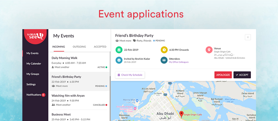 event apps