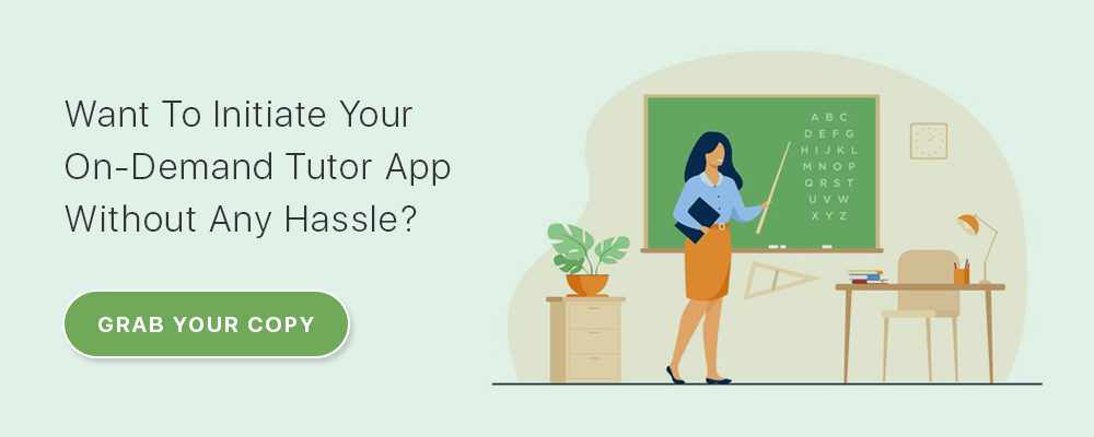 on-demand tutor app