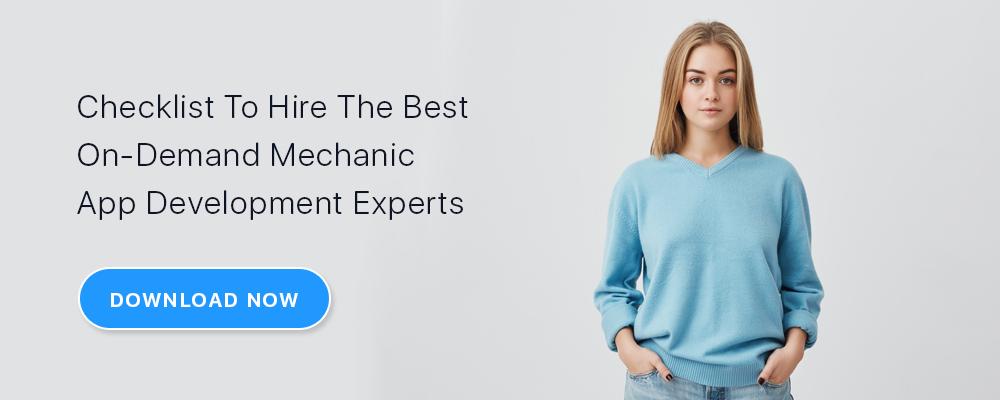 on-demand mechanic app